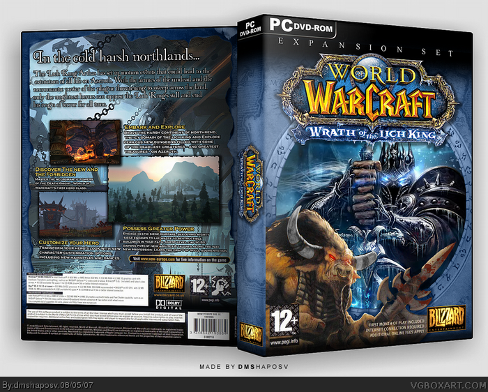 world of warcraft wrath of the lich king gameplay. the world play the game,